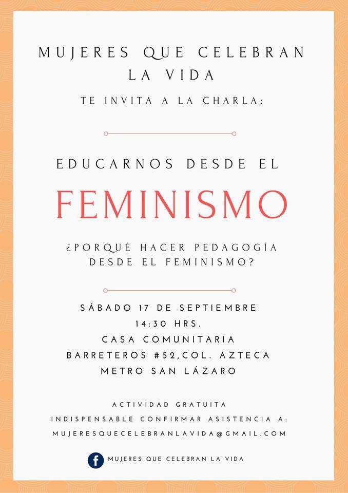 Educarnos desde el feminismo