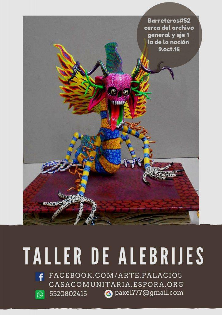taller alebrijes