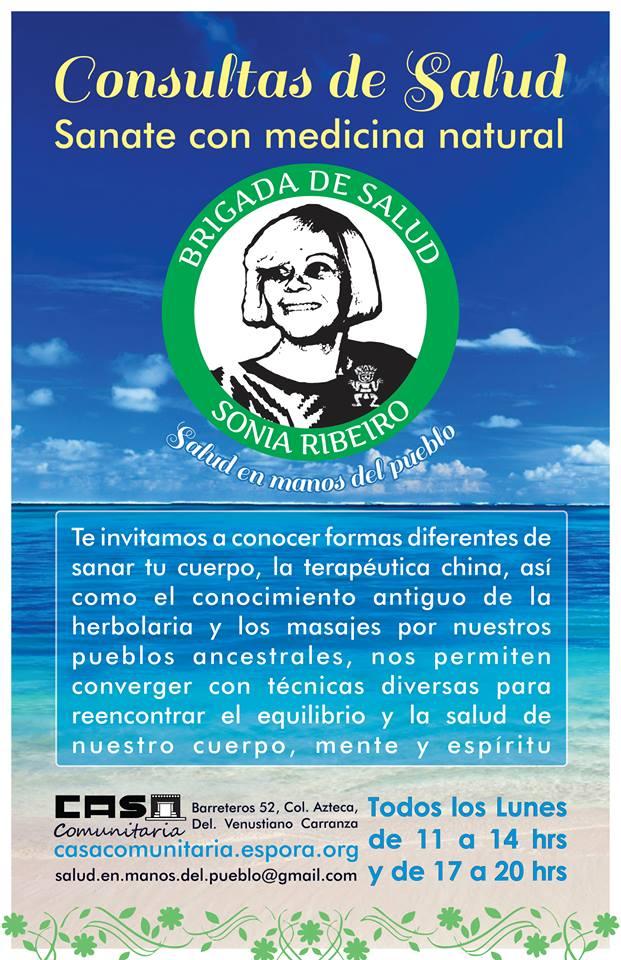 """Brigada de Salud """"Sonia Ribeiro"""""""